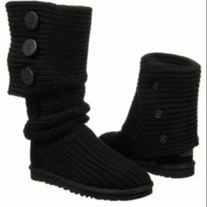 Ugg 5819 classic cardy knit boots
